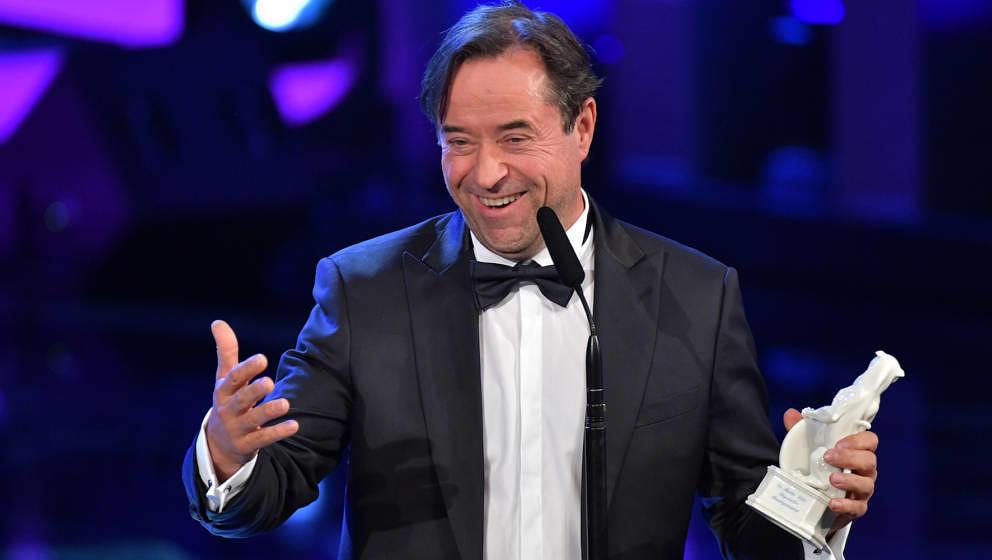 MUNICH, GERMANY - MAY 24: Jan Josef Liefers attends the Bayerische Fernsehpreis award ceremony (Bavarian Television Award) 20