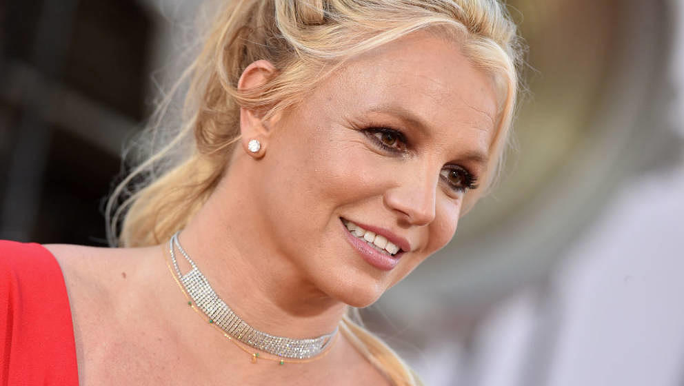 HOLLYWOOD, CALIFORNIA - JULY 22: Britney Spears attends Sony Pictures' 'Once Upon a Time ... in Hollywood' Los Angeles Premie