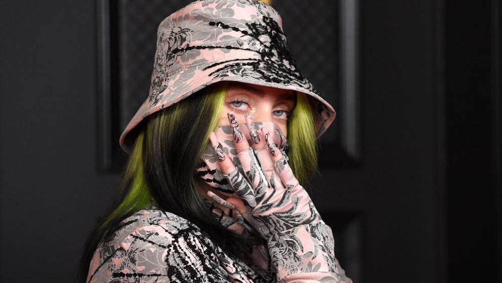 LOS ANGELES, CALIFORNIA - MARCH 14: Billie Eilish attends the 63rd Annual GRAMMY Awards at Los Angeles Convention Center on M