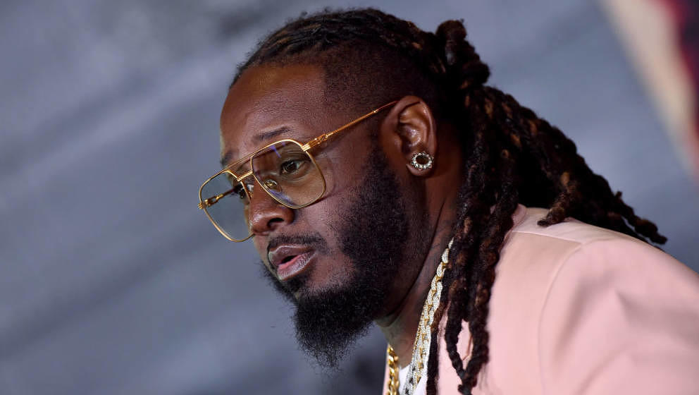 HOLLYWOOD, CALIFORNIA - JANUARY 14: T-Pain attends the Premiere of Columbia Pictures' 'Bad Boys for Life' at TCL Chinese Thea