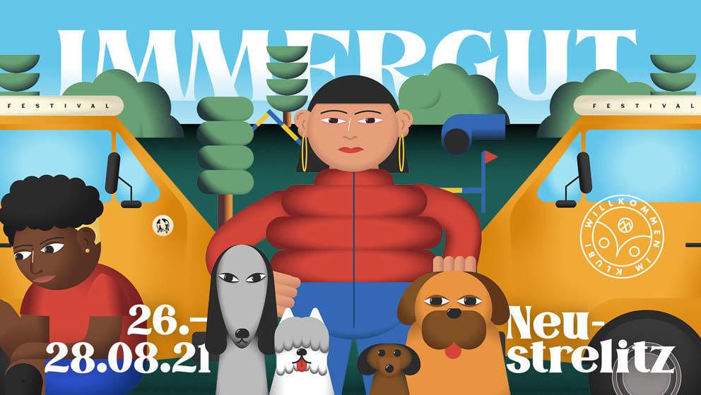 Vom 26. bis 28. August soll das Immergut Festival in Neustrelitz stattfinden.