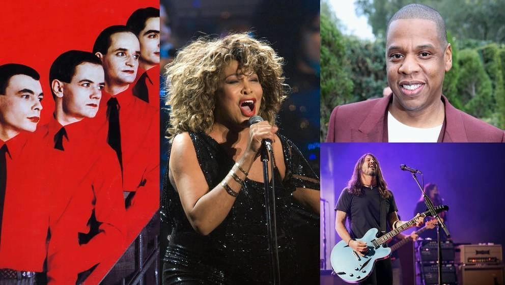 Kraftwerk, Tina Turner, Jay Z, Foo Fighters: Sie werden 2021 aufgenommen.