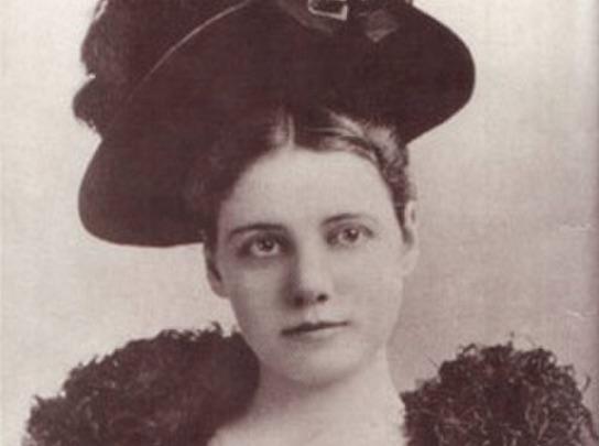 Ein Portrait von Nellie Bly, ca. im Jahr 1890.