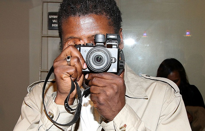 NEW YORK, NY - MARCH 29:  Photographer Chi Modu attends his Chi Modu exhibition opening at Smile Gallery on March 29, 2012 in
