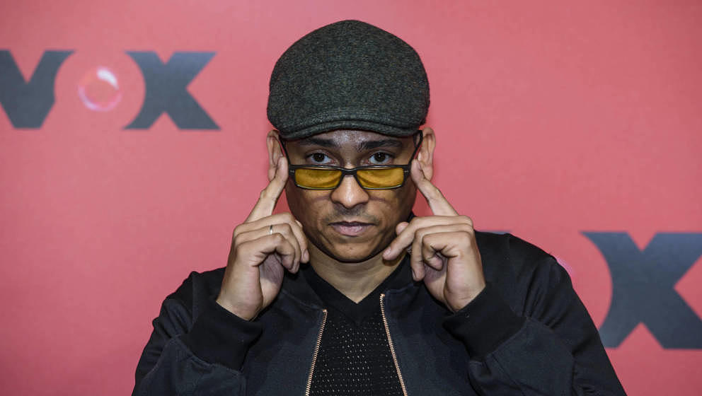 BERLIN, GERMANY - FEBRUARY 23: Xavier Naidoo attends a photocall for the TV show 'Sing meinen Song' on February 23, 2015 in B