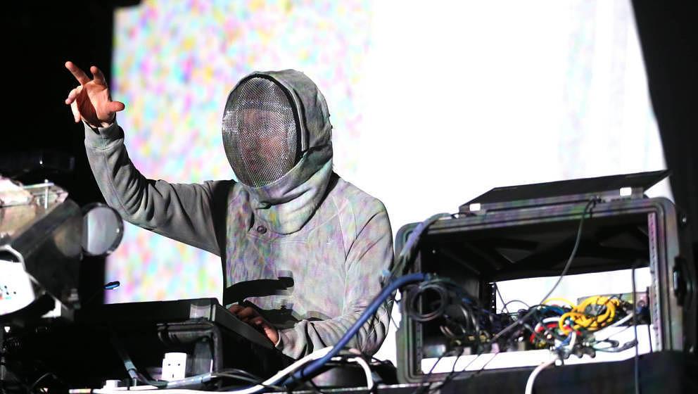Squarepusher, hier beim Coachella Festival 2015