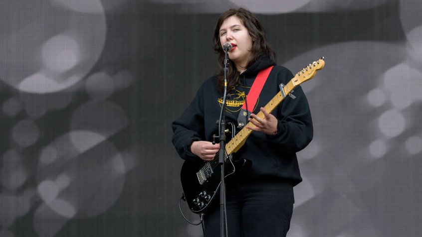 OKEECHOBEE, FL - MARCH 08:  Lucy Dacus performs onstage during day four at Okeechobee Music & Arts Festival at Sunshine G