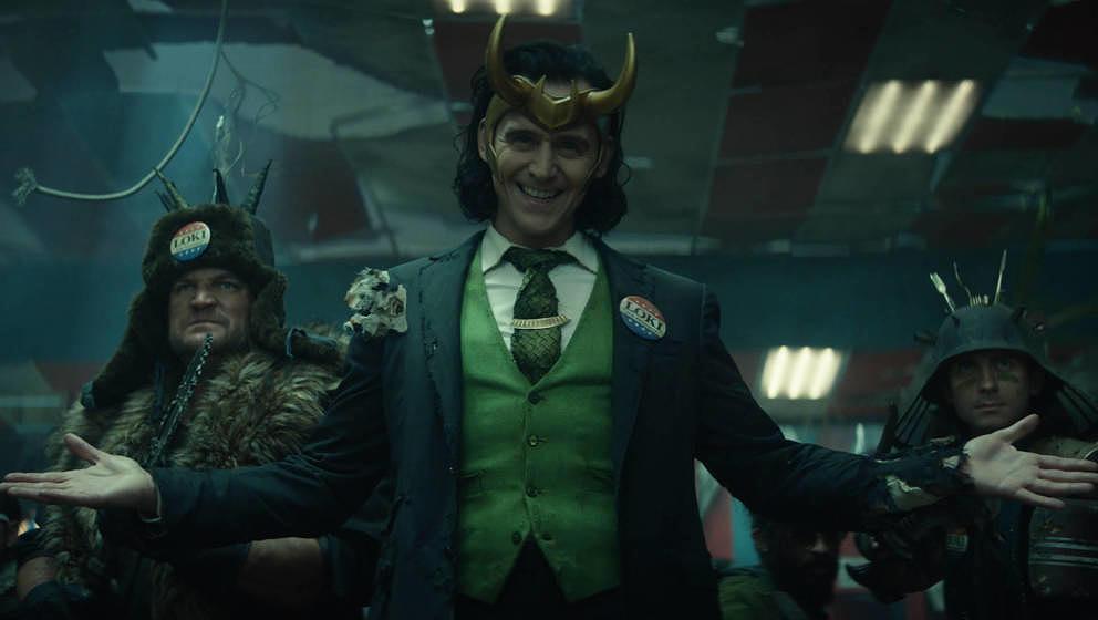 Tom Hiddleston als  Loki Laufeyson.