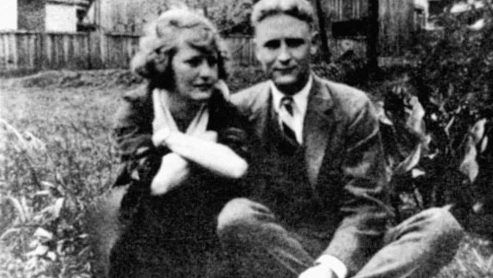 Scott Fitzgerald und Zelda in Montgomery, Alabama, ca. 1920.