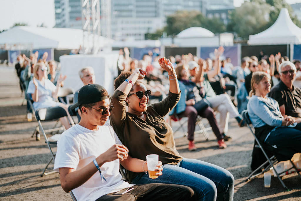 Atmo auf dem Reeperbahn Festival