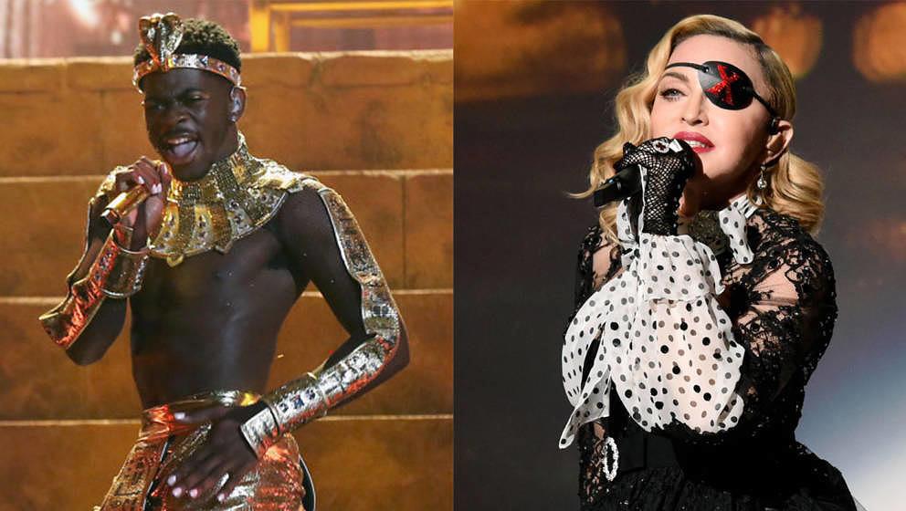 """Lil Nas X verteidigte Madonnas Kommentar """"Ich hab's zuerst gemacht""""."""