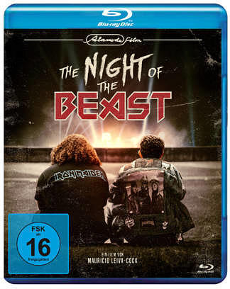 Blu-Ray Cover THE NIGHT OF THE BEAST