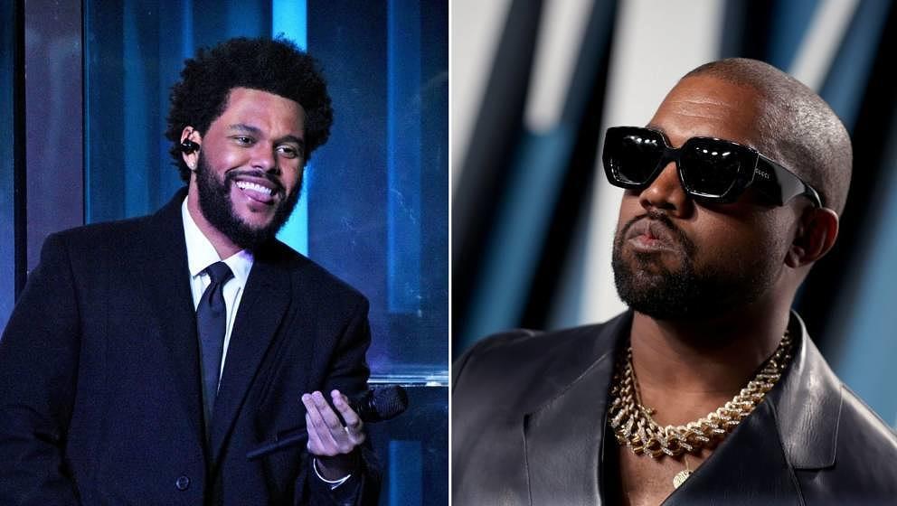 Kanye West und The Weeknd