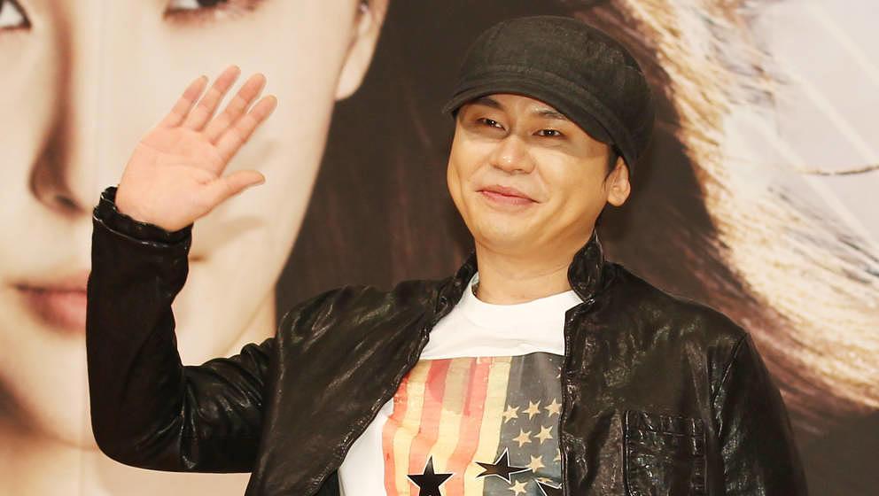 SEOUL, SOUTH KOREA - NOVEMBER 09:  Yang Hyun-Suk attends the SBS 'K-Pop Star 2' Press Conference at SBS building on November