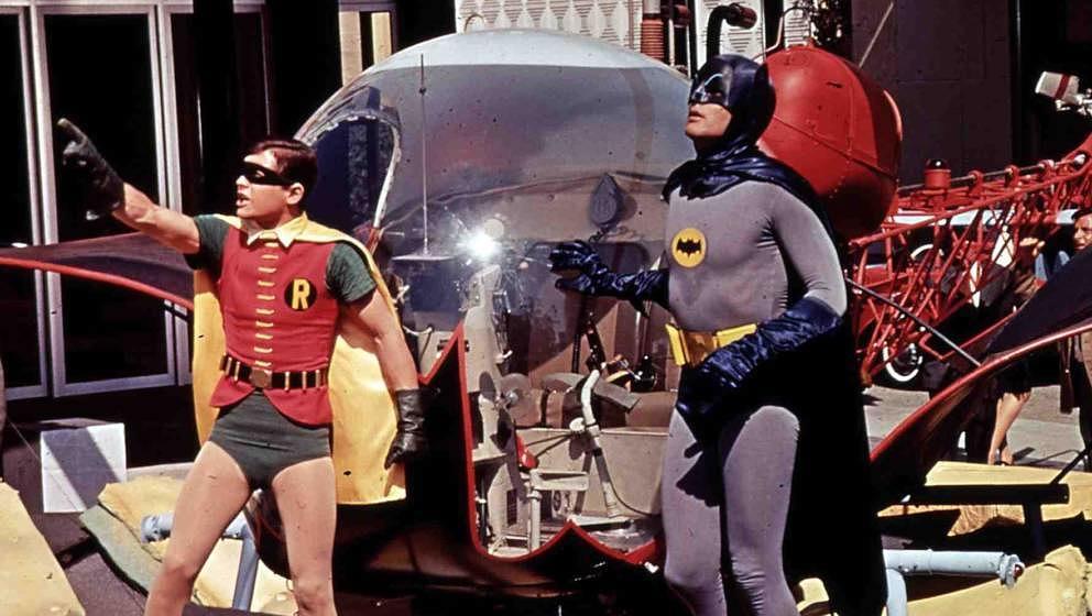 Batman und Robin Adam West