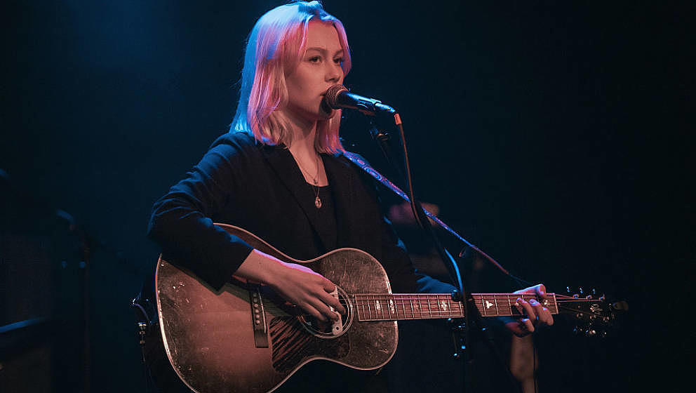 BIRMINGHAM, AL - OCTOBER 16:  Phoebe Bridgers performs at Saturn Birmingham on October 16, 2016 in Birmingham, Alabama.  (Pho