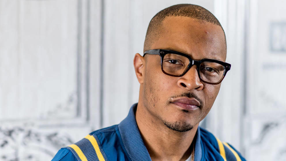 NEW YORK, NY - APRIL 07: Rapper T.I. discusses 'T.I. & Tiny: The Family Hustle' with the Bulid Series at Build Studio on