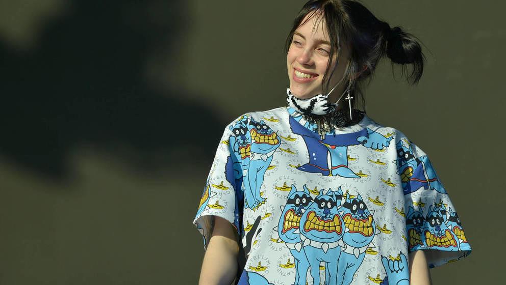 Billie Eilish, hier beim Glastonbury Festival 2019. So eine Freundin oder so ein Vorbild hätte Paula Irmschler in ihrer Juge