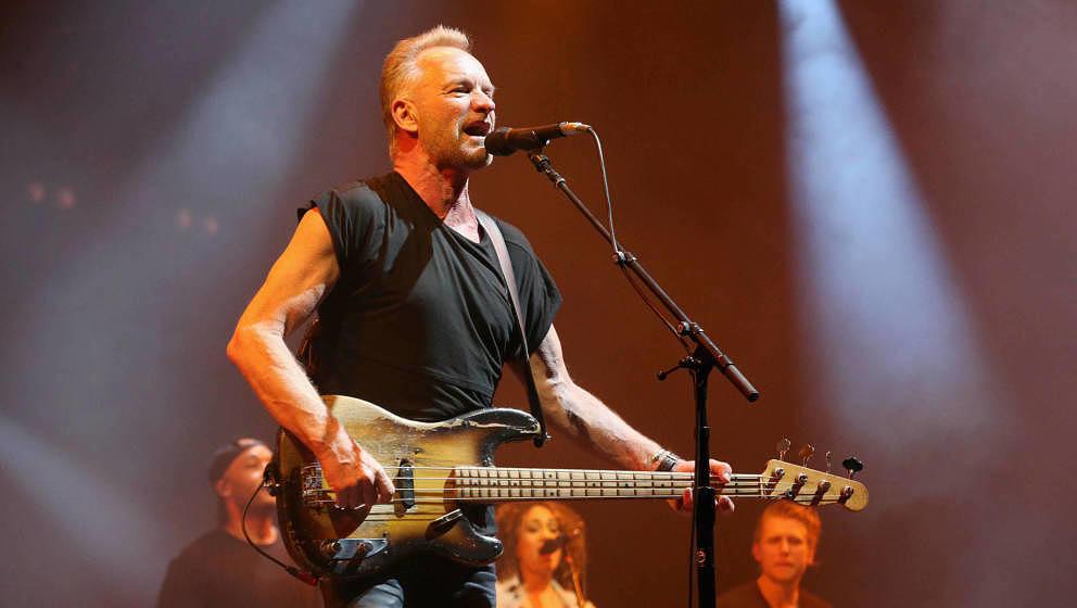 Sting (The Police) wird bei der Eröffnungsgala des Reeperbahn Festivals in Hamburg auftreten.(Photo by Gary Miller/Getty Ima