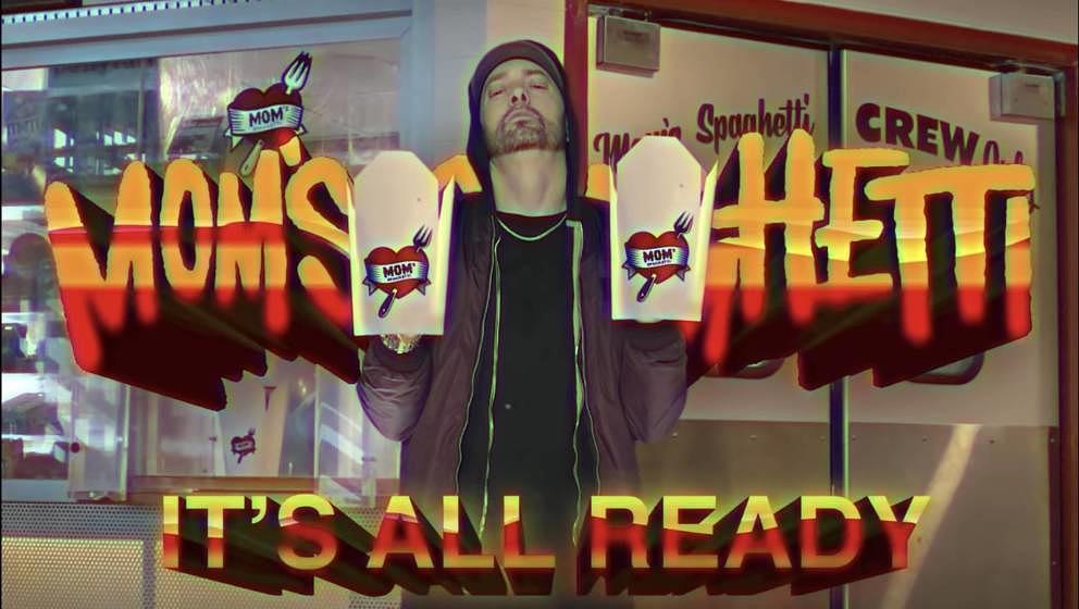 Eminem verkauft jetzt Pasta in Detroit.