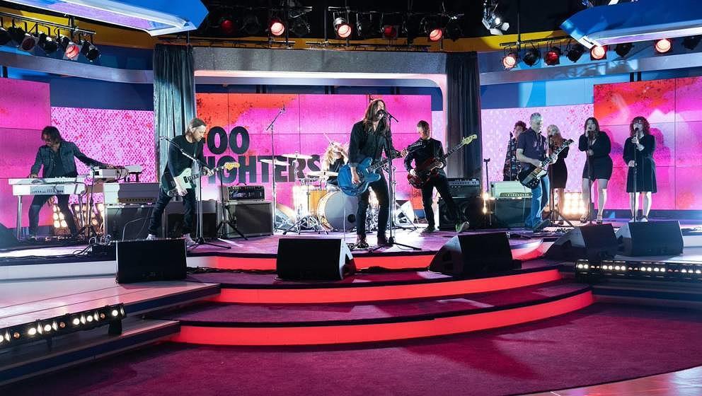 """Die Foo Fighters zu Besuch im Studio von """"The Morning Show"""""""