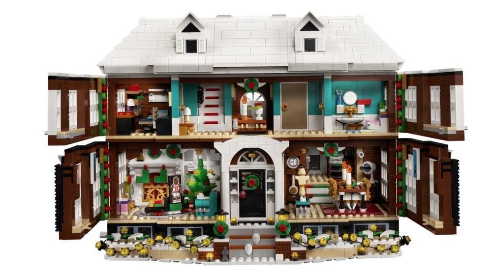 Das Haus der McCallisters als Lego-Version